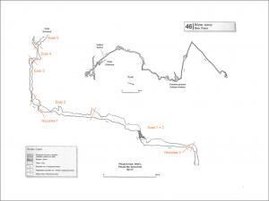 Карта на пещерата Ибрин Понор