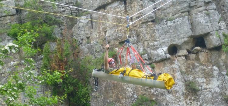 Есенен тренировъчен лагер-сбор на Пещерно спасяване