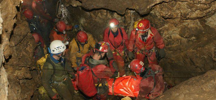 Тренировка на Пещерно спасяване, Котел