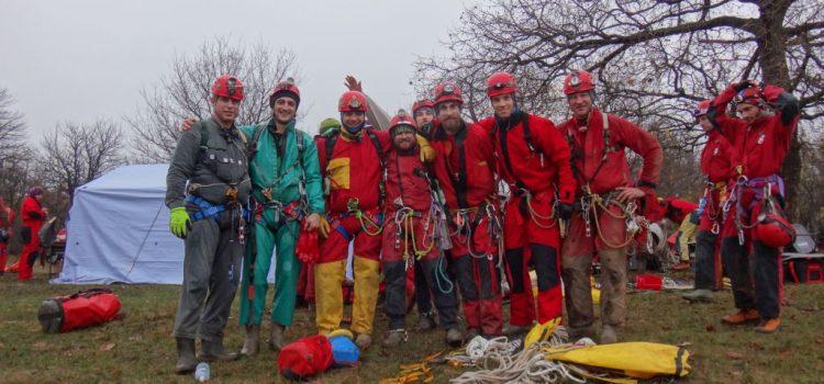 Международна тренировка в пещерата Суви Понор, Сърбия
