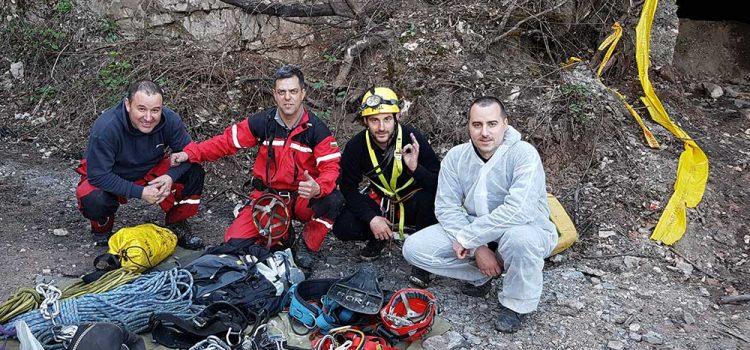 Инцидент в изоставена мина