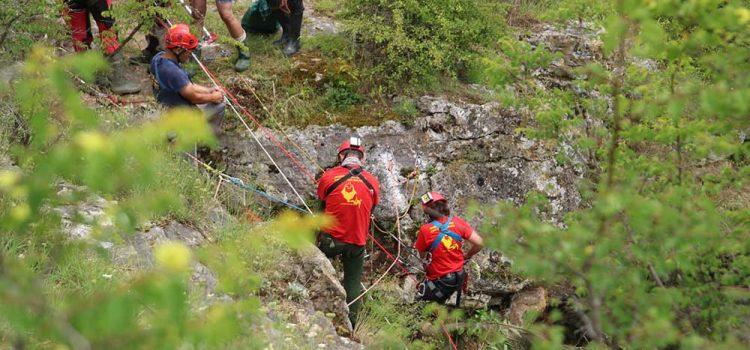 Лятна техническа подготовка на пещерните спасители
